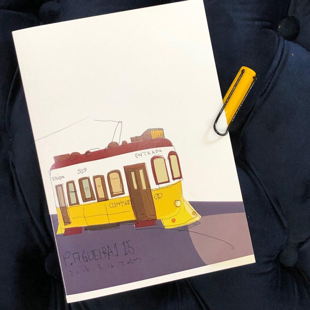 ポルトガル路面電車のノート