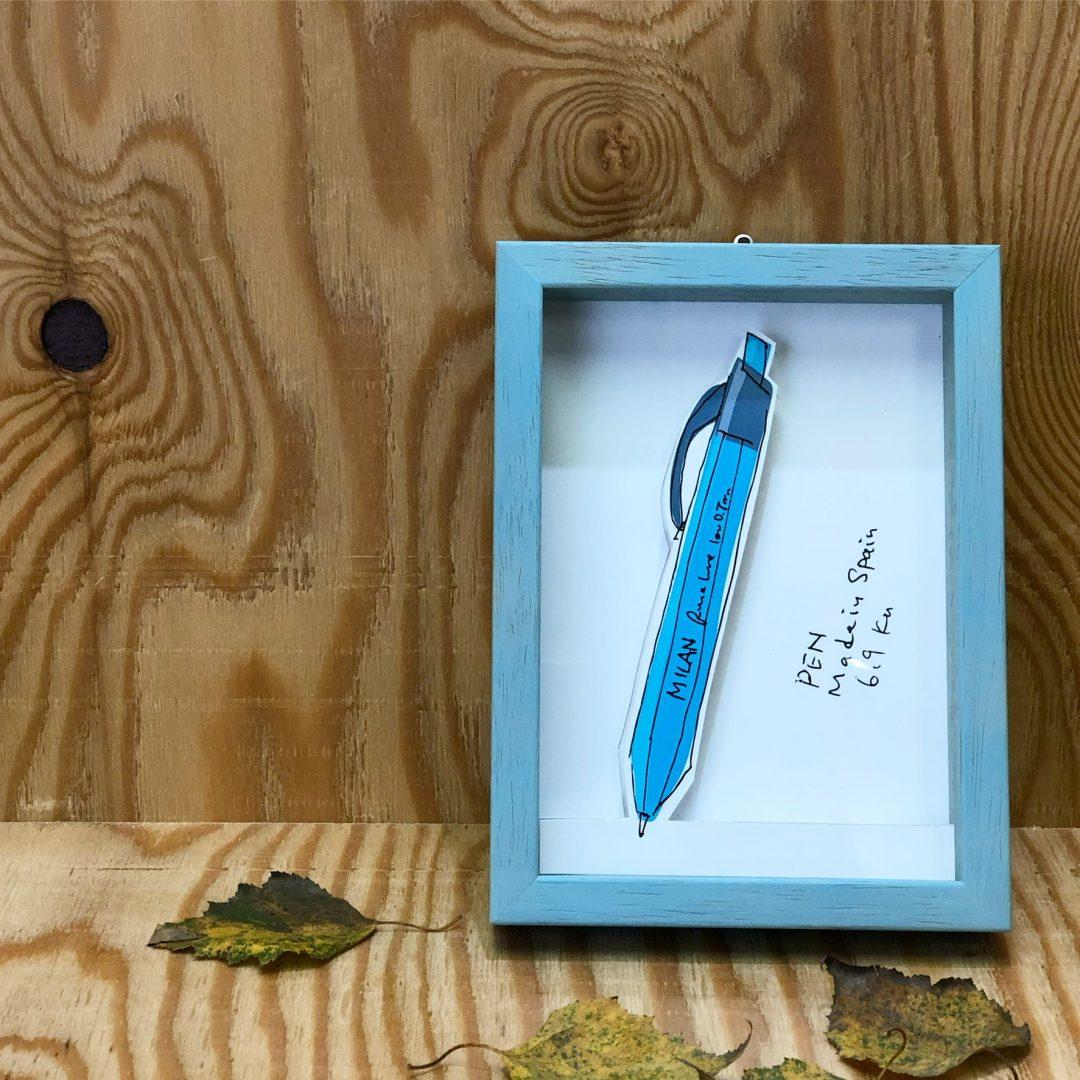 コバルトブルー のボールペン