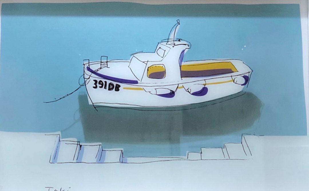 ドブロブニクのボート