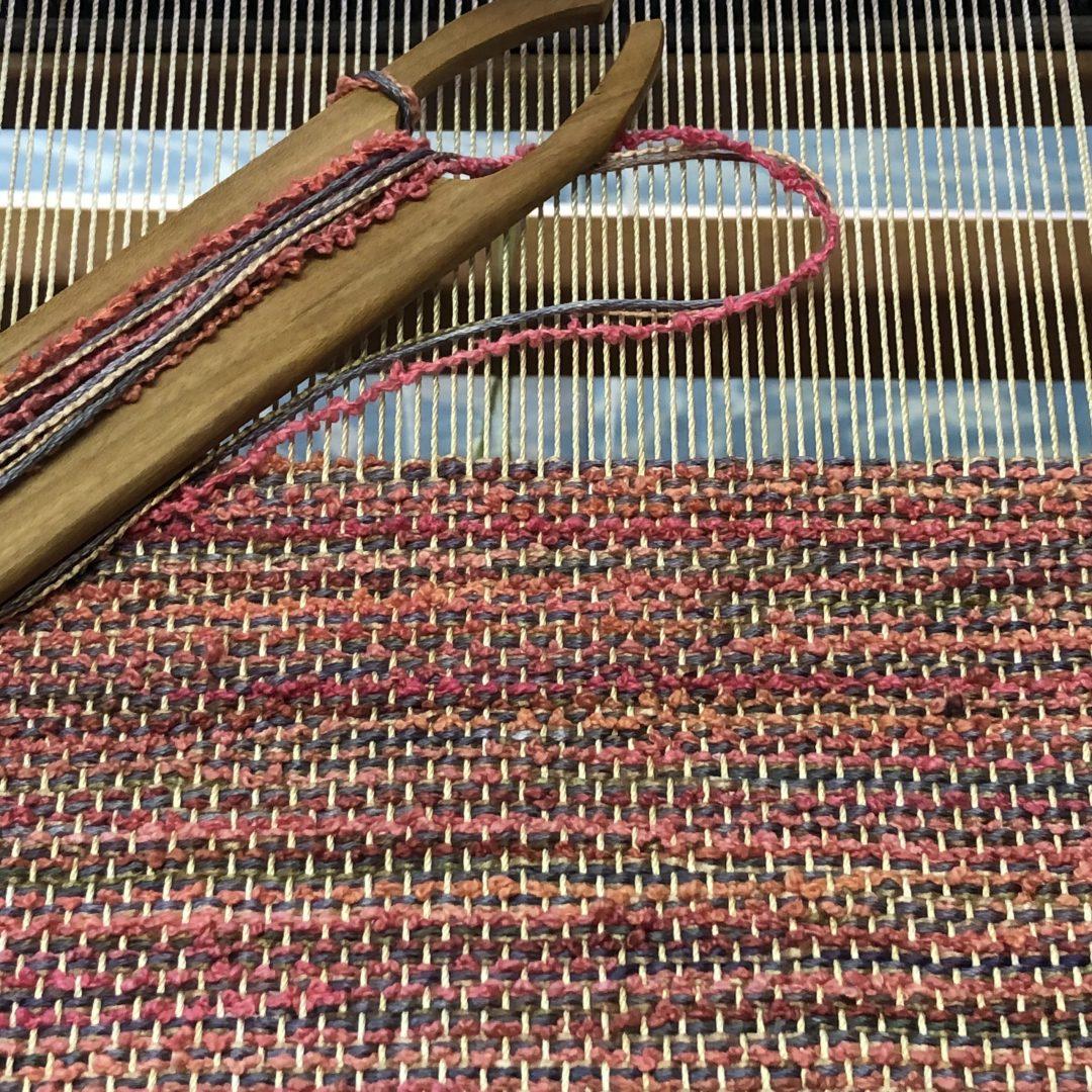 絹織物の体験
